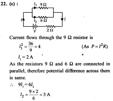 NEET AIPMT Physics Chapter Wise Solutions - Current Electricity explanation 22