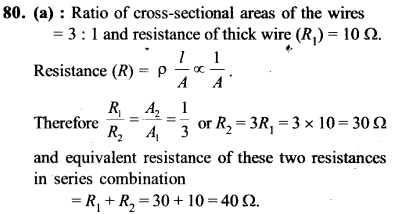 NEET AIPMT Physics Chapter Wise Solutions - Current Electricity explanation 80
