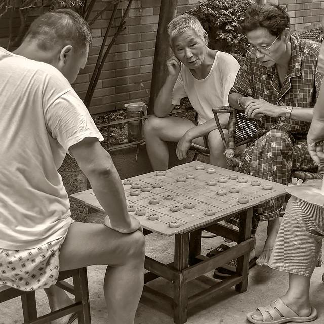 Joueurs de Xiangqi
