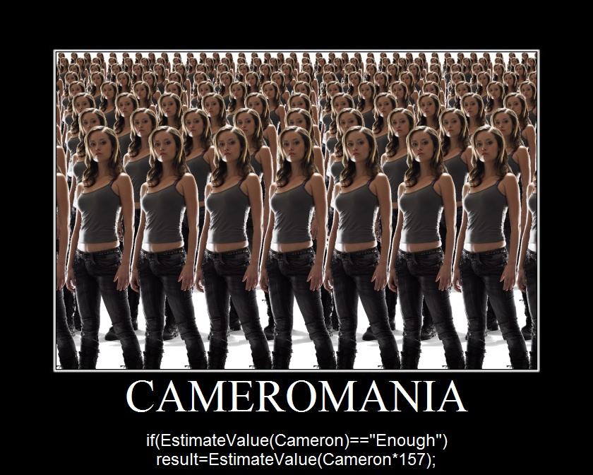 Summer Glau tscc Cameron cameromania programming