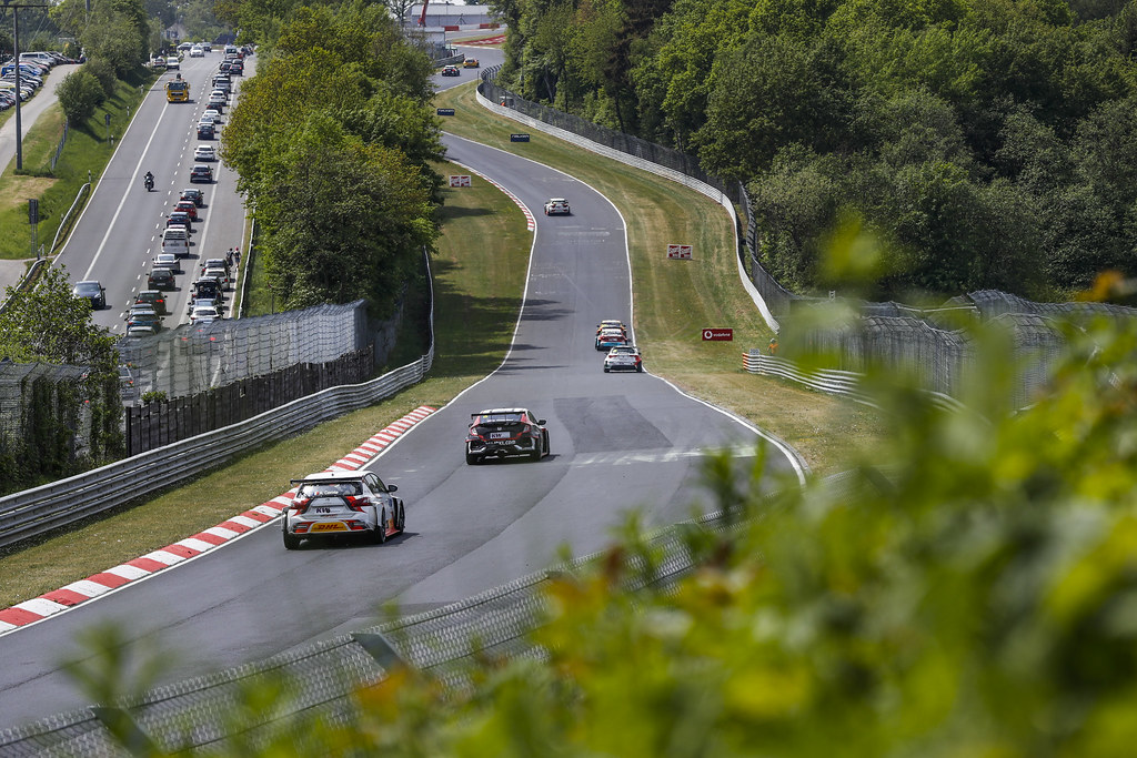 07 COMTE Aurelien (FRA), DG Sport Competition, PEUGEOT 308TCR, action during the 2018 FIA WTCR World Touring Car cup of Nurburgring, Nordschleife, Germany from May 10 to 12 - Photo Florent Gooden / DPPI