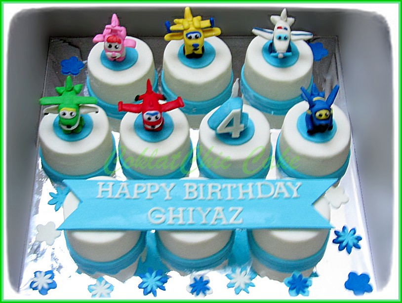 Minicake set Superwings - GHIYAZ