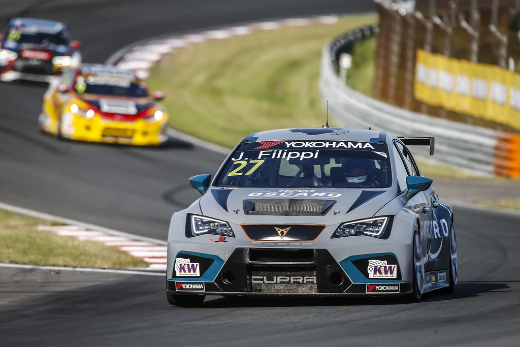 27 FILIPPI John, (fra), Seat Cupra TCR team Oscaro by Campos Racing, action during the 2018 FIA WTCR World Touring Car cup of Zandvoort, Netherlands from May 19 to 21 - Photo Francois Flamand / DPPI