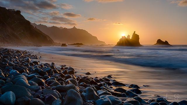 Sunset at Punta De Benijo