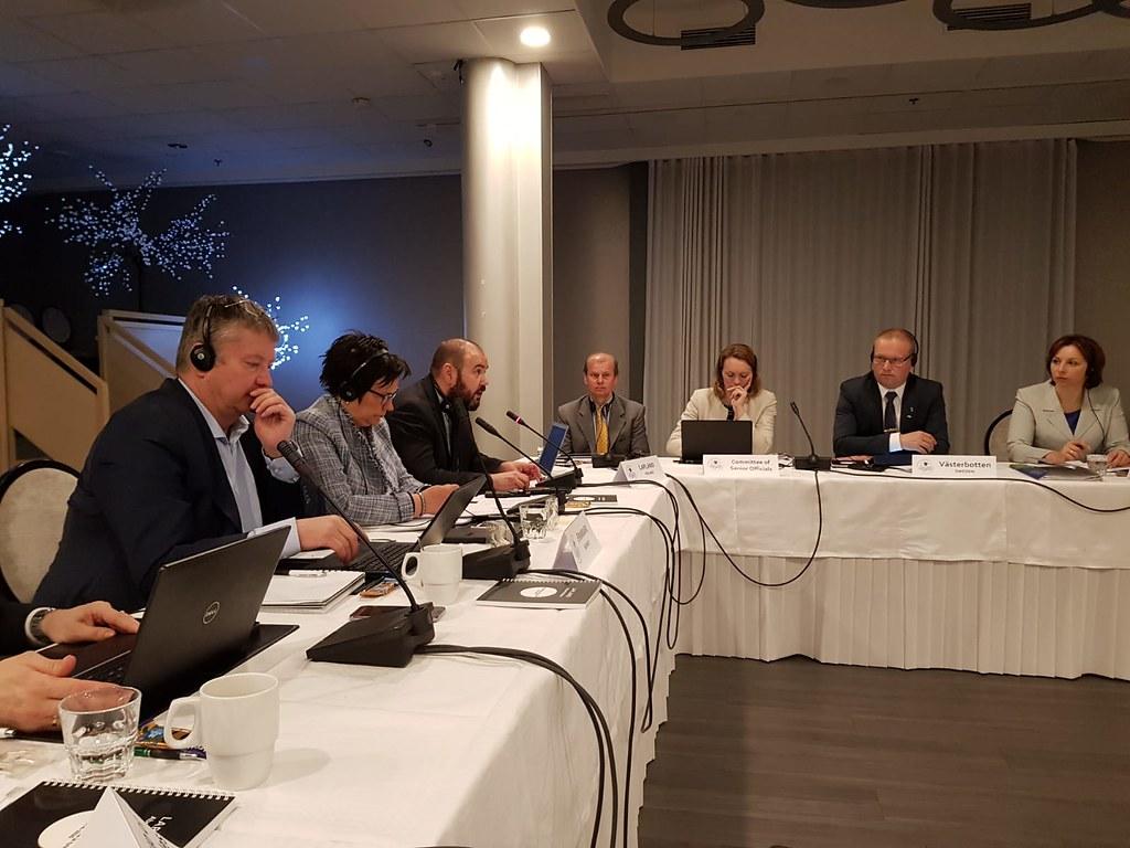 Møte i Barents regionråd