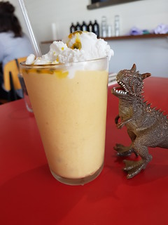 Mango Passionfruit Coconut Float at St Coco Cafe