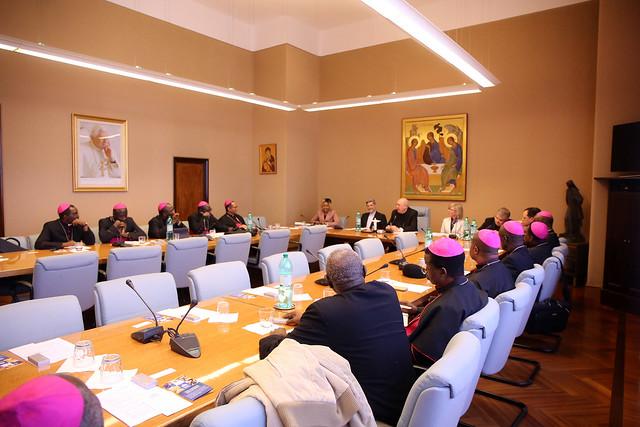 Ad limina visit of the Bishops of Nigeria