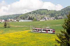 Sainte Croix | CH-VD (Vaud) | 05.05.2018 | Travys train