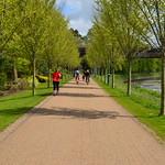 Walkway at Miller Park, Preston