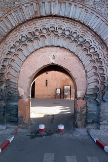 Bab Agnaou képe. marrakech morroco arab northafrica sun outdoors sky clouds city buildings old historic babagnaou gate walls decorative