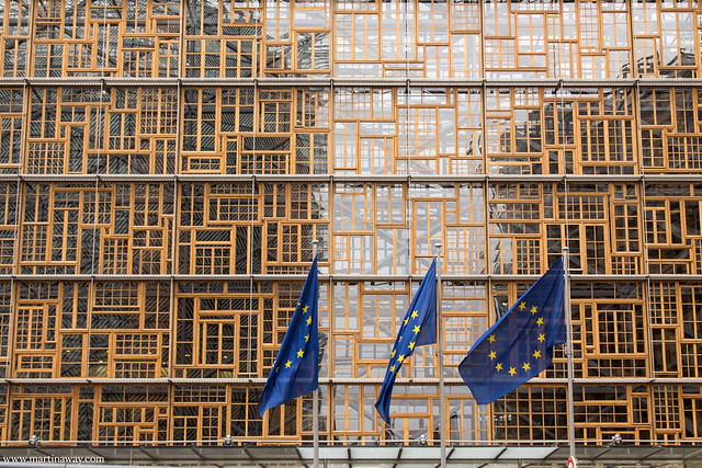 Europa Building, quartiere europeo di Bruxelles