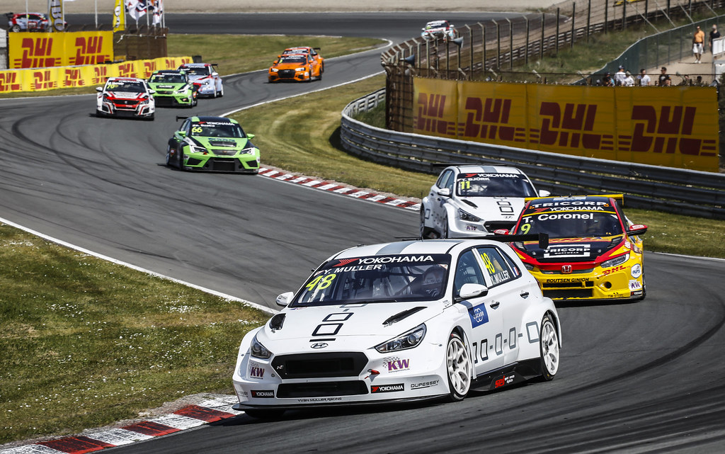 48 MULLER Yvan, (fra), Hyundai i30 N TCR team Yvan Muller Racing, action during the 2018 FIA WTCR World Touring Car cup of Zandvoort, Netherlands from May 19 to 21 - Photo Francois Flamand / DPPI