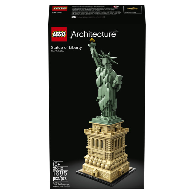 21042 - Statue Of Liberty Box