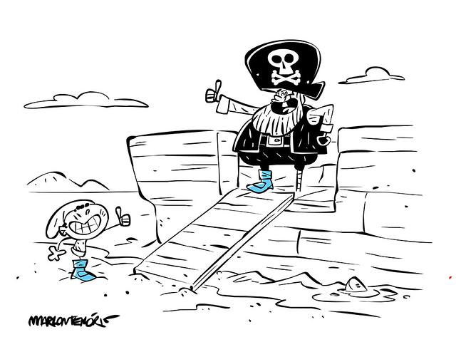 Saci e o pirata