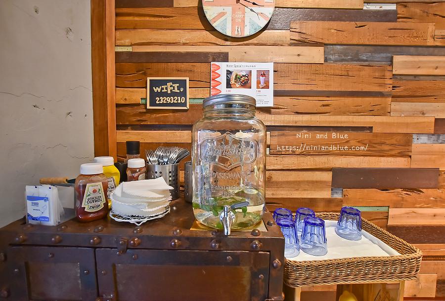 好堅果咖啡 菜單 台中早午餐 精誠商圈01
