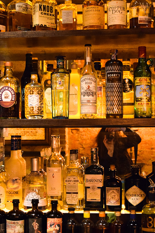 Gin Library at the Portobello Star, Notting Hill #cocktails #london #nottinghill #portobelloroad