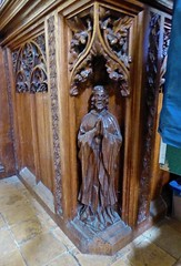 Wood Carvings in Churches & Cathedrals