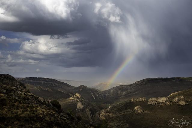 Landscapes in Teruel.