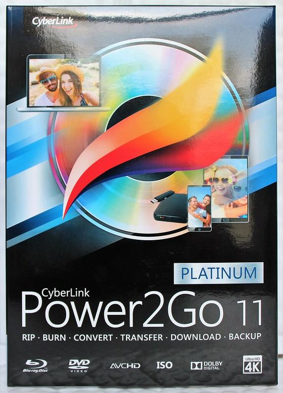 🔥 Power 2Go 11 Platino Cyberlink (DVD) quema de los medios de