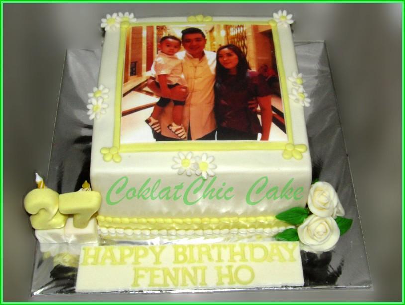Cake Family Edible Photo FENNI HO 15 cm