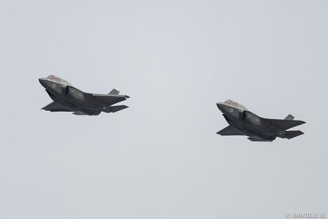 Iwakuni FD 2018 (151) VMFA-121 F-35B VK-10 & VK-11