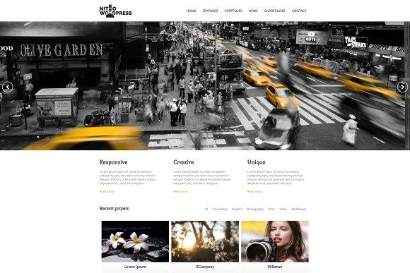 Nitro v1.05 - Multipurpose WordPress Theme
