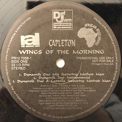 CAPLETON:WINGS OF THE MORNING(LABEL SIDE-A)