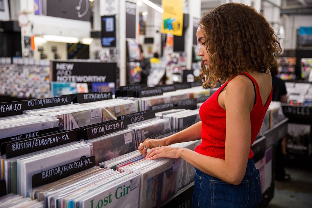 Record Shopping with... Jones