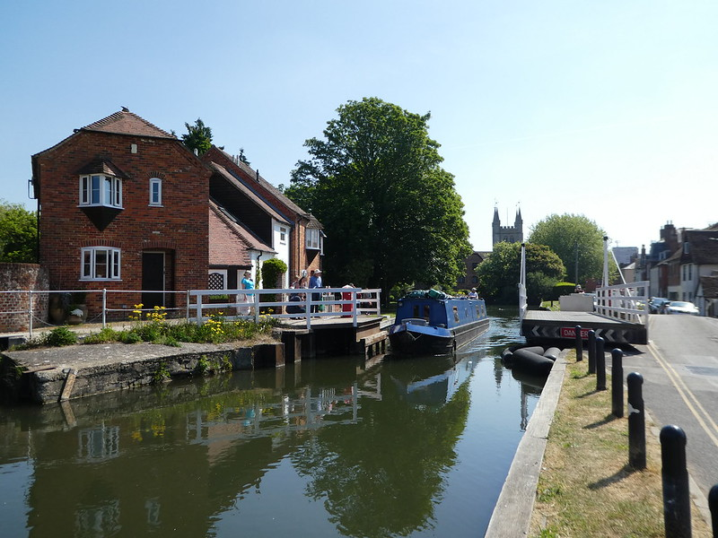 Mill Swing Bridge, Kennet & Avon Canal, Newbury