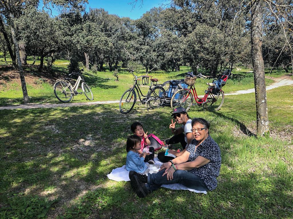 A picnic in Casa de Campo with Por-Por