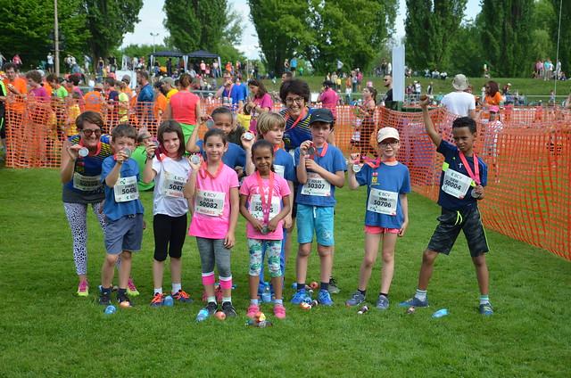 20 km de Lausanne 2018 - une équipe de futurs champions