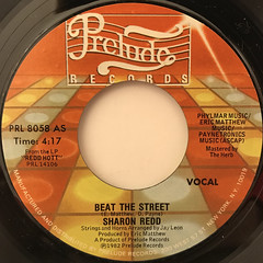 SHARON REDD:BEAT THE STREET(LABEL SIDE-A)