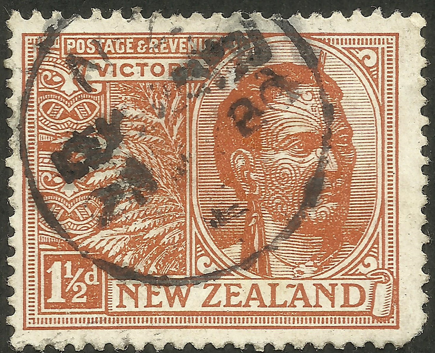 New Zealand - Scott #167 (1920)