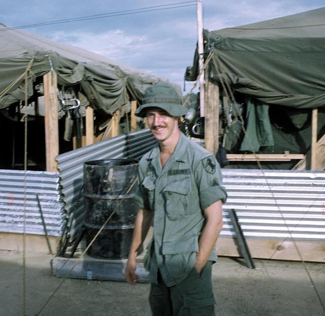 1970 – A soldier from 11ACR, 9th Infantry Division. Photo courtesy of Bob Weber (Patterson), 6th Battalion, 31st Infantry Regiment, 9th Infantry Division