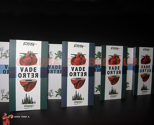 Diseño de Brochure para Rayma - Expo Vade Retro / Brochure design for Rayma - Expo Vade Retro