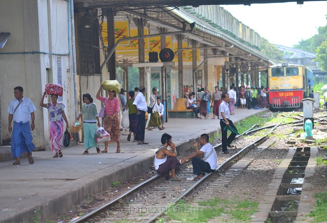 myanmar itinerary yangon circular train tour