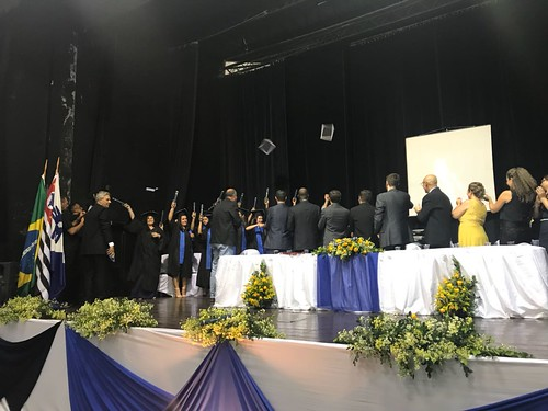 Formatura no Polo EAD Guaratinguetá, abril de 2018