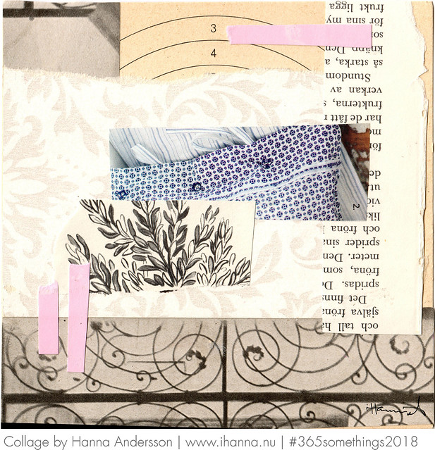 73 Making your own bed - Collage by Hanna Andersson