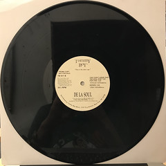 DE LA SOUL:JENIFA(TAUGHT ME)(RECORD SIDE-B)