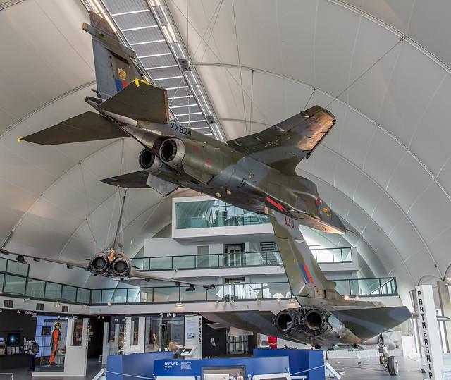 Sepecat Jaguar GR.1, XX824-AD, RAF Museum Hendon, 20180513, D75_7022