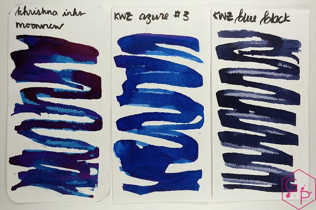 Krishna Inks Moonview Fountain Pen Ink Review @PenChalet 4