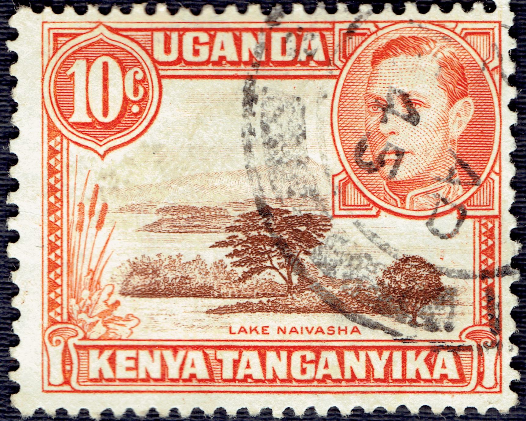 Kenya, Uganda & Tanganyika - Scott #69 (1938)