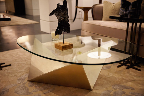 Origami-Inspired Table Base by Christopher Guy