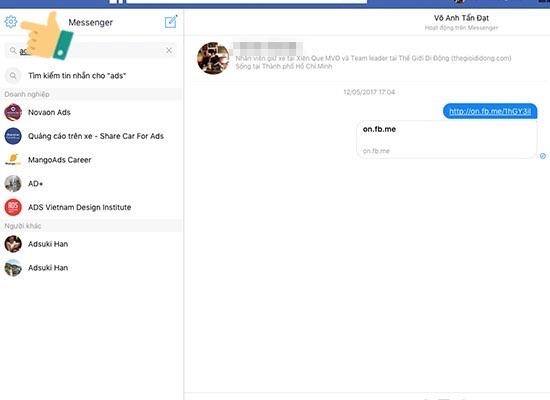 cách lấy lại tin nhắn đã xóa vĩnh viễn trên facebook