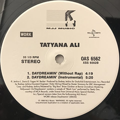TATYANA ALI:DAYDREAMIN'(LABEL SIDE-B)