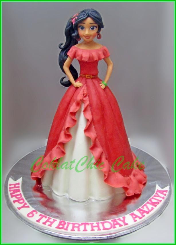 Cake Princes Elena of Avalor AAZKIYA 15 cm