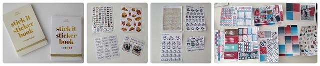 Shoplog planner stickers