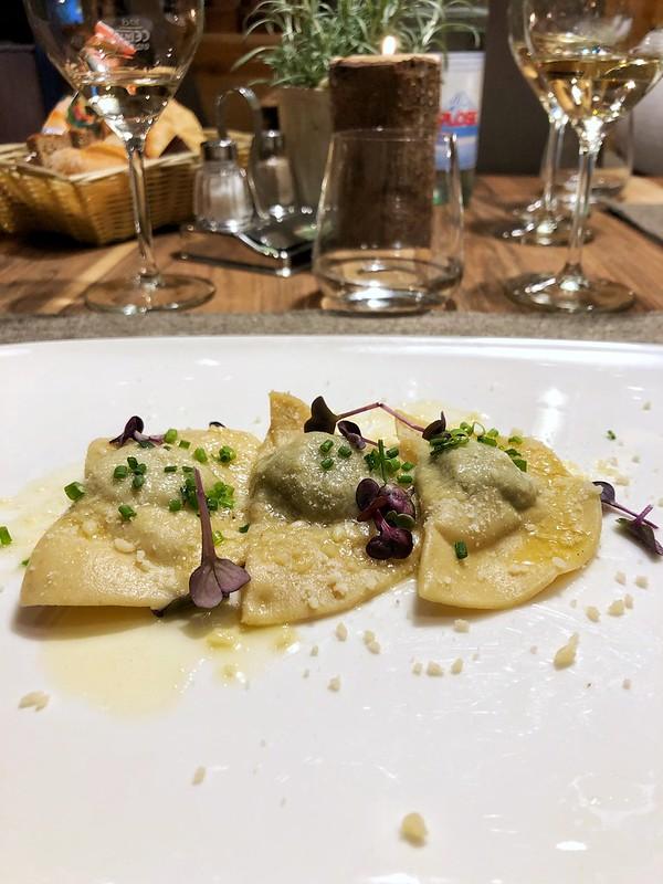 Pasta tipica con ortiche - Alto Adige - Maggio 2018