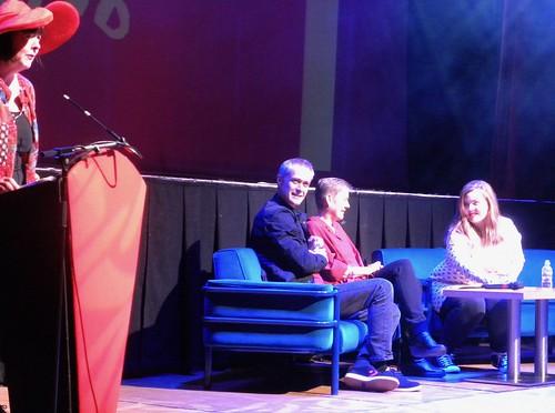 Yvonne Manning, Dan Smith, Tanya Landman and Alwyn Hamilton