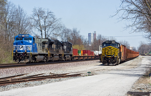 NS 4000, NS Huntington District, Fort Wayne, Indiana